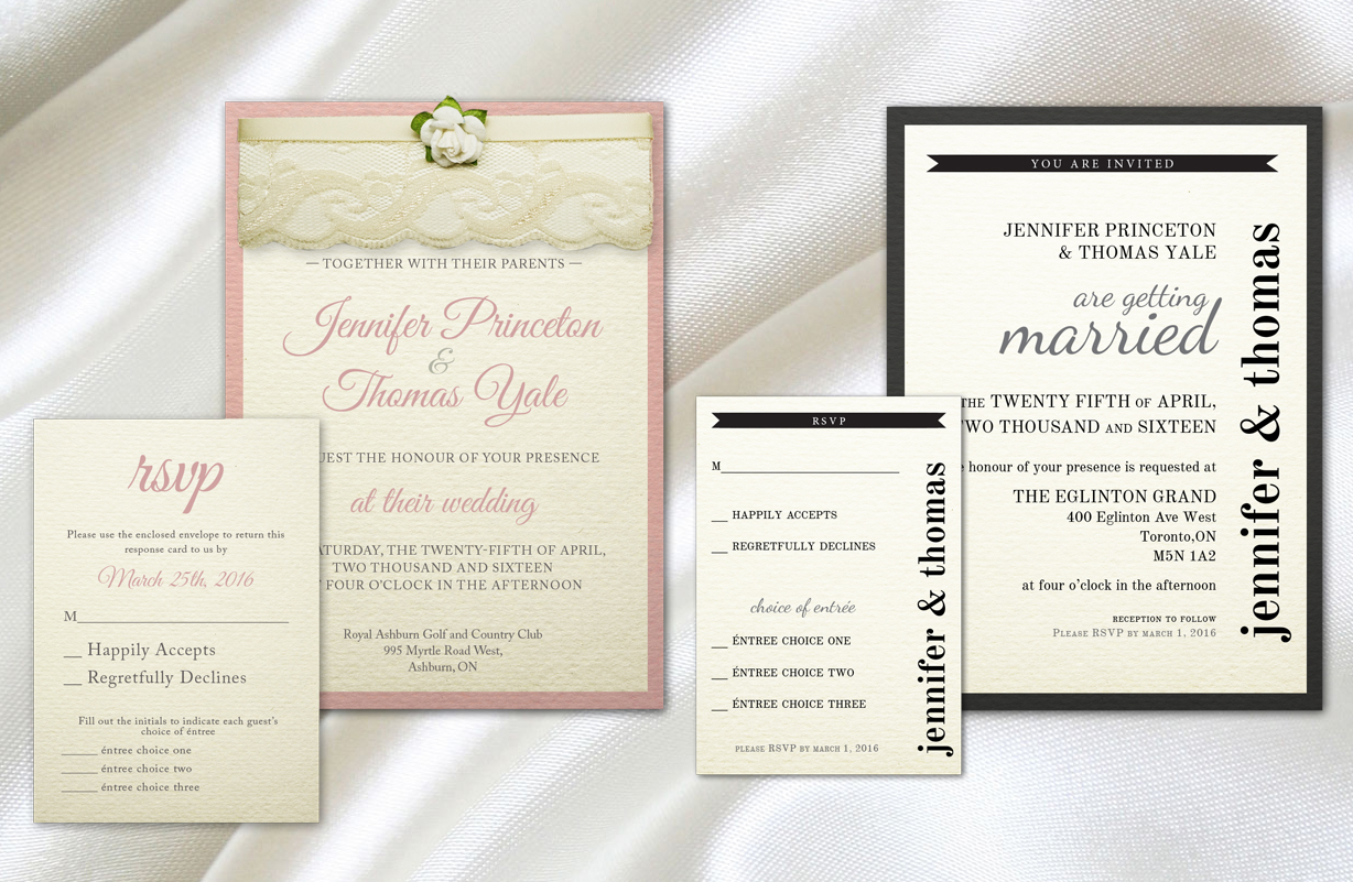 Party in Print » Wedding Invitations